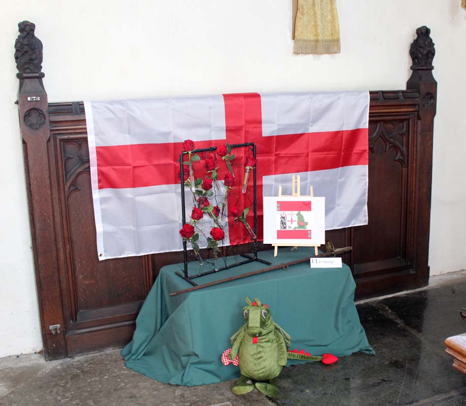 11A St George of England - Soldiers, Archers and Armourers